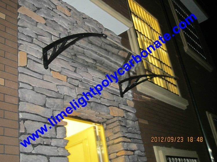 window awning door canopy DIY awning roof canopy pc awning polycarbonate awning