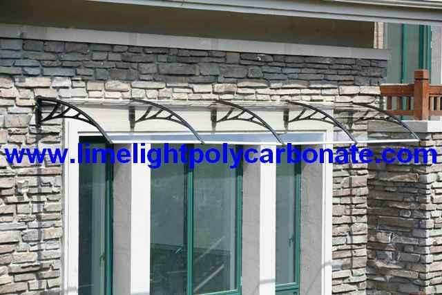 polycarbonate awning window awning door canopy DIY awning ...