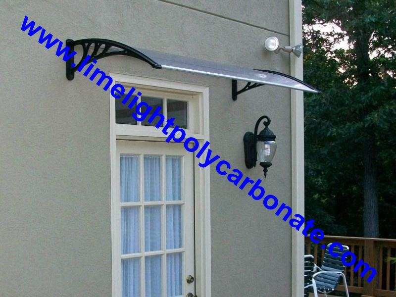 Polycarbonate Awning DIY Window Door Canopy Roof