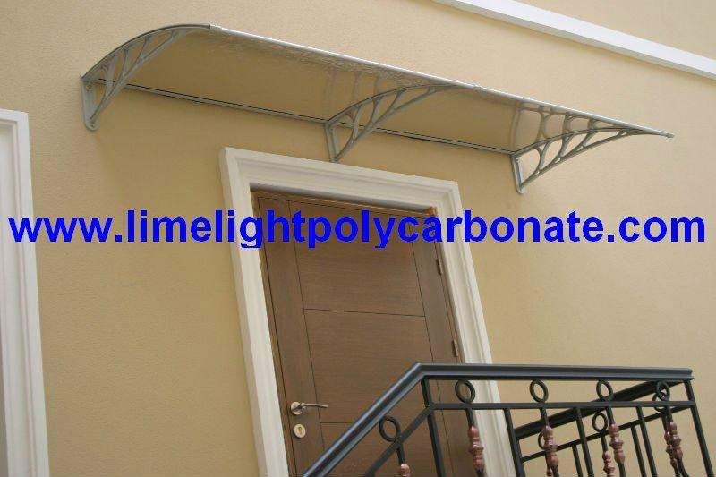 Polycarbonate Awning Window Awning Door Canopy Awning Roof