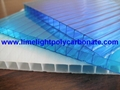 100% virgin polycarbonate sheet polycarbonate glazing twinwall pc hollow sheet