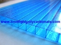 Twinwall polycarbonate sheet polycarbonate roof sheet pc hollow sheet pc sheet