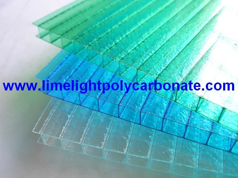 Twinwall polycarbonate sheet frosted pc hollow sheet multiwall polycarbonate 1