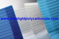 X-Wall polycarbonate sheet pc sheet pc hollow sheet polycarbonate roofing sheet