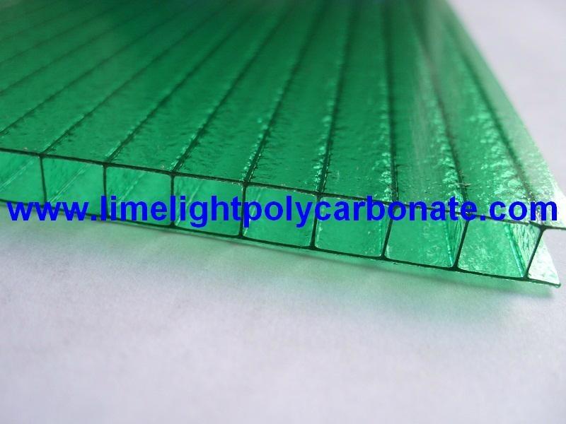 Twinwall pc sheet pc hollow sheet polycarbonate sheet polycarbonate hollow sheet 1