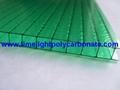 Twinwall pc sheet pc hollow sheet