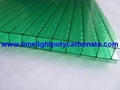 Twinwall pc sheet pc hollow sheet polycarbonate sheet polycarbonate hollow sheet