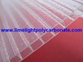 Crystal polycarbonate sheet frost