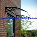 door awning kits DIY polycarbonate
