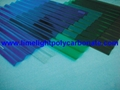 Corrugated polycarbonate sheet pc