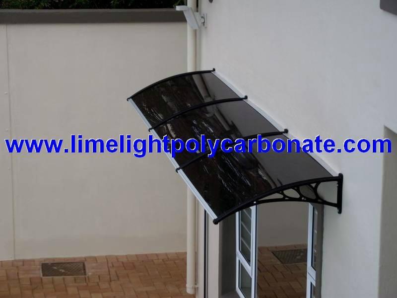 Awning Canopy DIY Awning Door Canopy Window Awning Polycarbonate Awning  Sunshade 1 ...