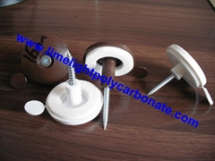 polycarbonate screw cap