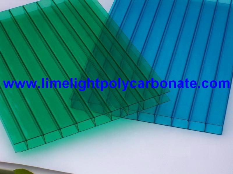 polycarbonate hollow sheet polycarbonate roofing polycarbonate glazing sheet