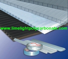 Quality polycarbonate sheet twinwall polycarbonate roof UV polycarbonate panel