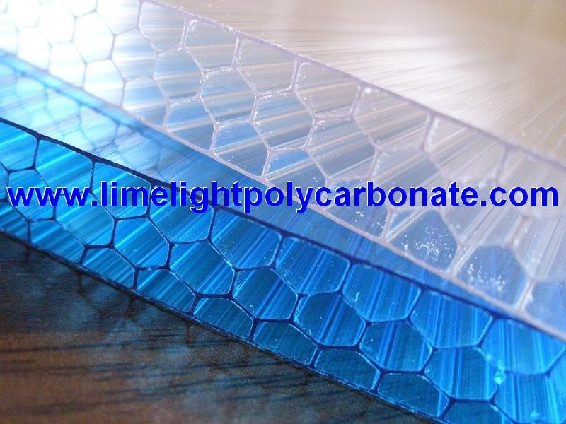 Alveolar Pc Sheet Honeycomb Polycarbonate Sheet Alveolate