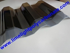 Corrugated polycarbonate