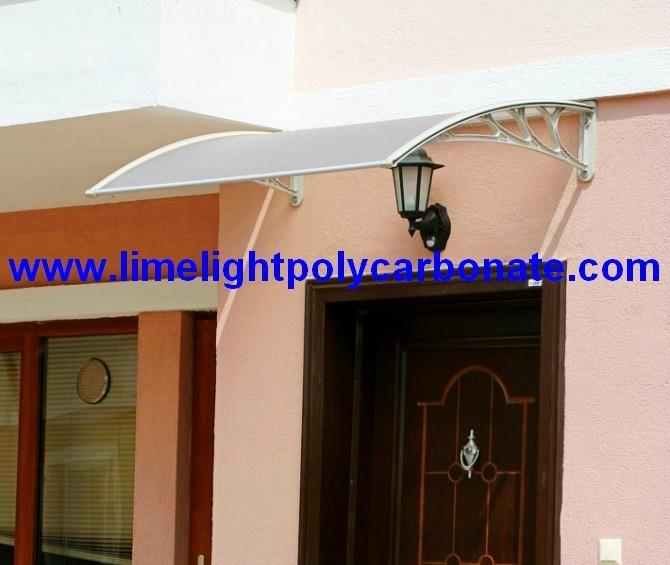 awning canopy DIY awning door canopy window awning polycarbonate awning sunshade 1