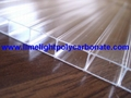 Clear polycarbonate sheet twinwall