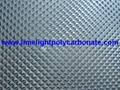 Prismatic polycarbonate sheet embossed polycarbonate sheet embossed pc sheet