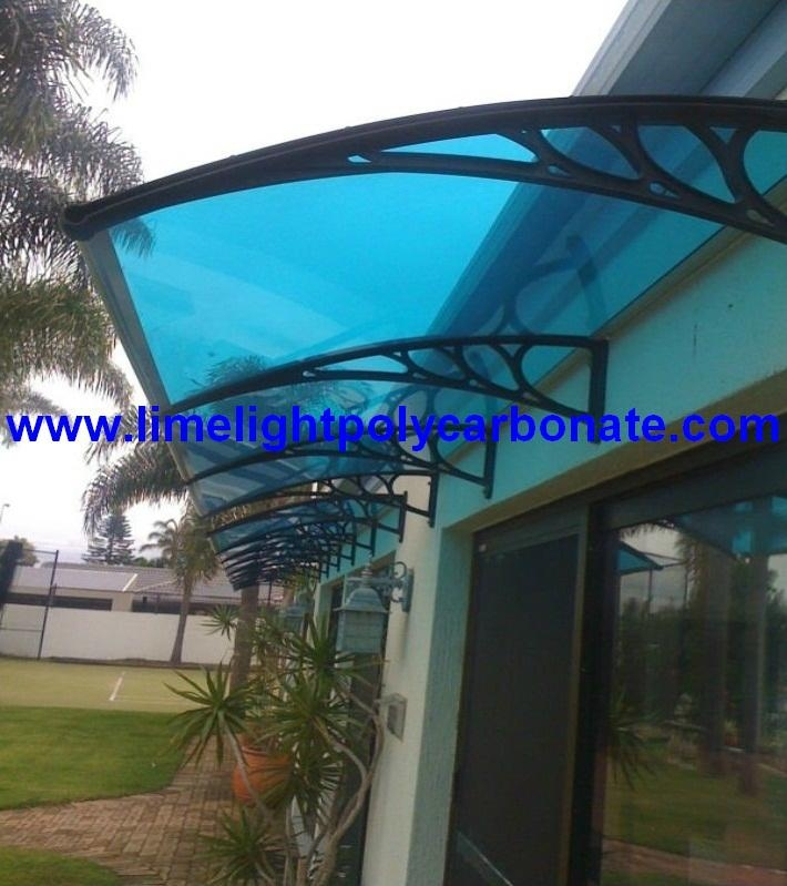 Awning Canopy Polycarbonate Awning Door Canopy Window