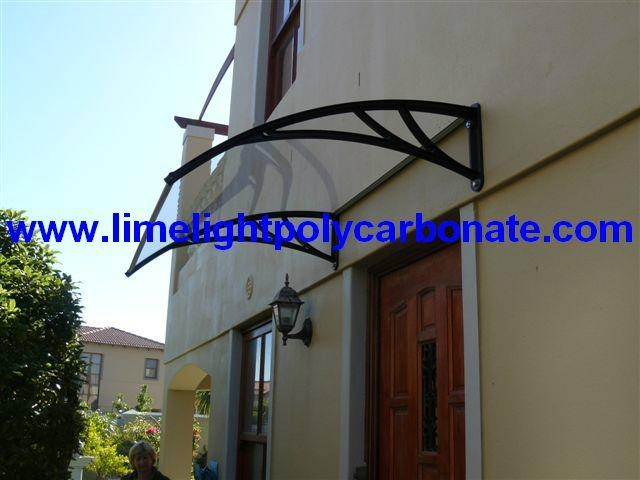 Diy Door Shelter : Polycarbonate awning diy door canopy window