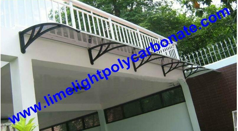 awning canopy DIY awning door canopy window awning polycarbonate awning shelter 1
