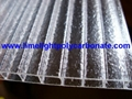 Crystal polycarbonate sheet frost polycarbonate sheet twinwall polycarbonate 2