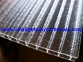 Crystal polycarbonate sheet frost polycarbonate sheet twinwall polycarbonate 3