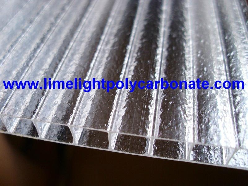 Crystal polycarbonate sheet frost polycarbonate sheet twinwall polycarbonate 4