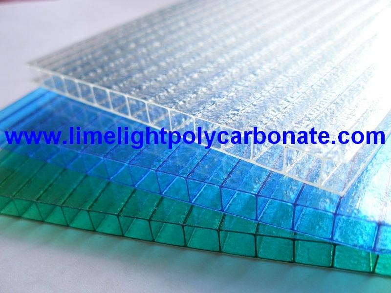 Twinwall Polycarbonate Sheet Frosted Pc Hollow Sheet