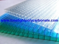 Twinwall polycarbonate sheet frosted pc hollow sheet multiwall polycarbonate 2