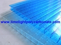 Twinwall polycarbonate sheet frosted pc hollow sheet multiwall polycarbonate 4