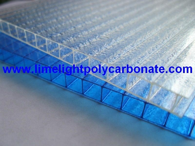 Twinwall polycarbonate sheet frosted pc hollow sheet multiwall polycarbonate 5