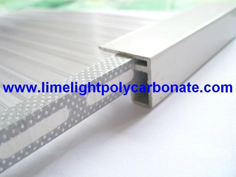Aluminium u profile aluminium glazing bar aluminium - Profile aluminium u ...