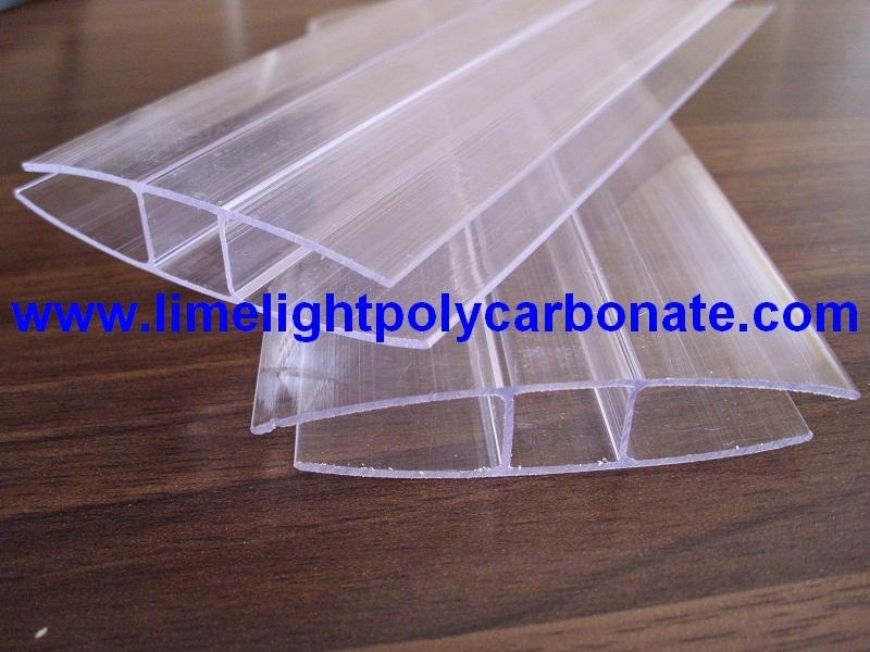 Polycarbonate H Profile, PC-H Profile