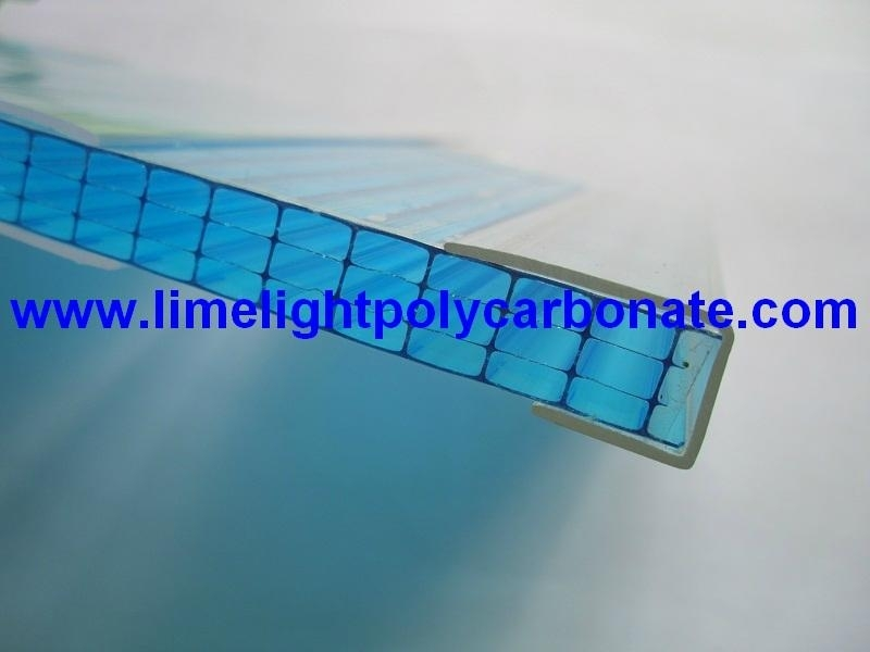 Polycarbonate U Profile for Polycarbonate Sheet