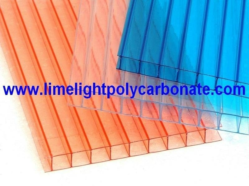 Twinwall Polycarbonate Hollow Sheet