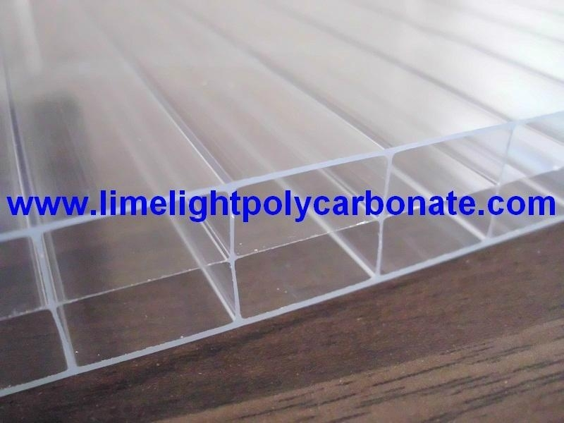 Triplewall Polycarbonate Hollow Sheet