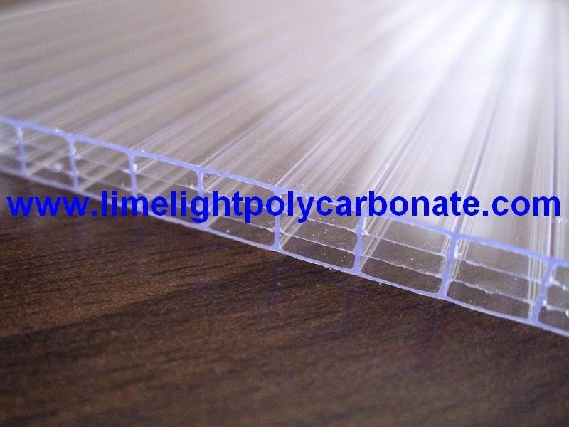 Fourwall Polycarbonate Hollow Sheet