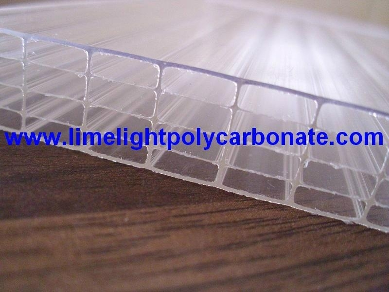 Five-wall Polycarbonate Hollow Sheet