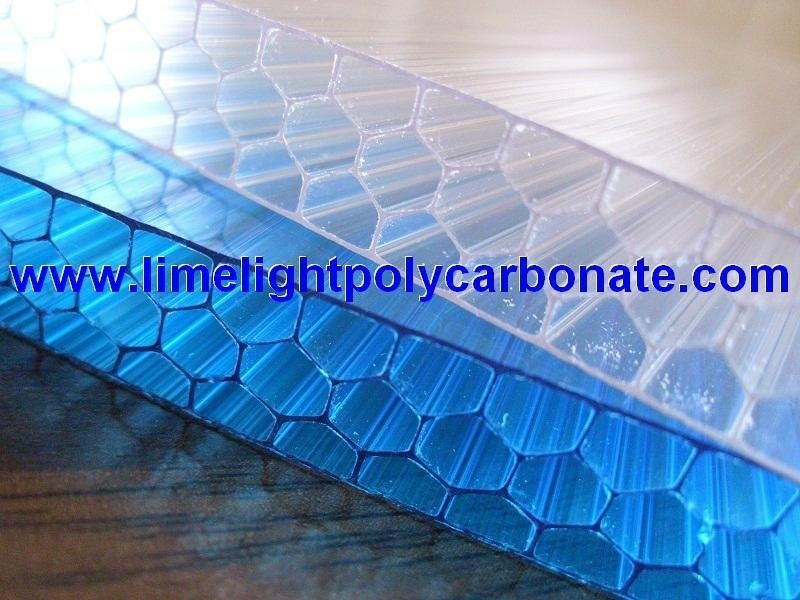 X-Profile Structure Polycarbonate Sheet