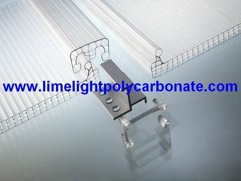 U-lock Multiwall Polycarbonate Hollow Sheet 2