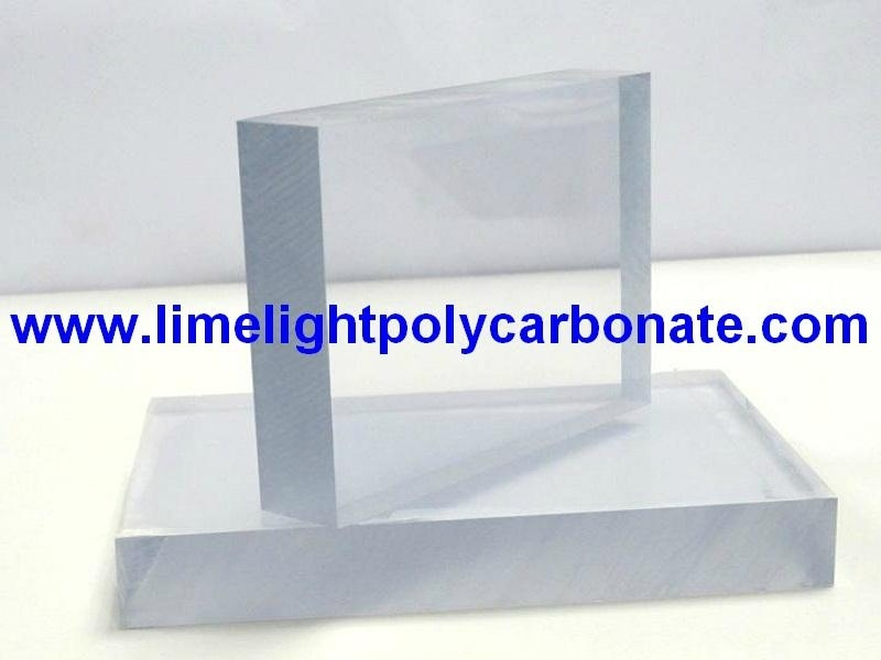 Anti Riot Flat Polycarbonate Solid Sheet