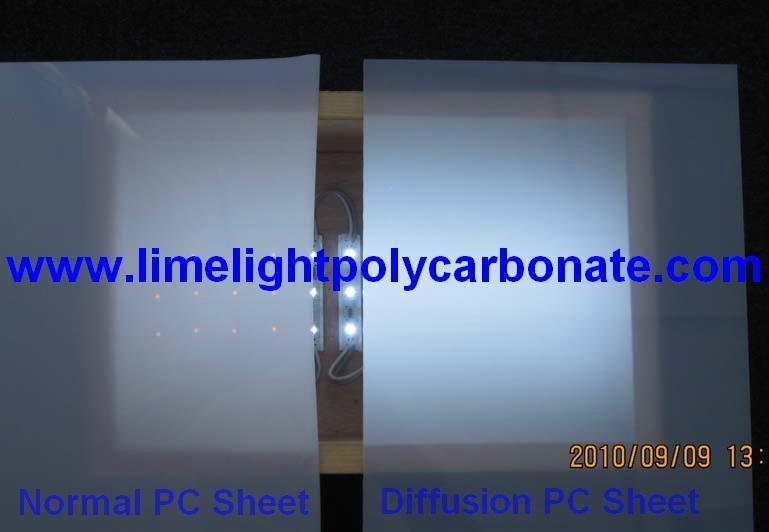 Polycarbonate Diffusion sheet LED panel 1