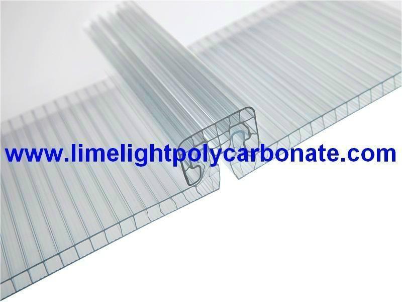 U Clip Joint Panel Polycarbonate Sheet U Lock