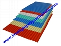 Anti-Corrosive PVC Corrugated Sheet PVC Roofing Sheet ROMA UPVC Roofing Panels