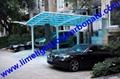 Y shape carport aluminium carport polycarbonate carport PC carport garage shade 2