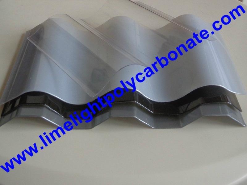 Corrugated polycarbonate sheet polycarbonate sheet polycarbonate roofing sheet 3