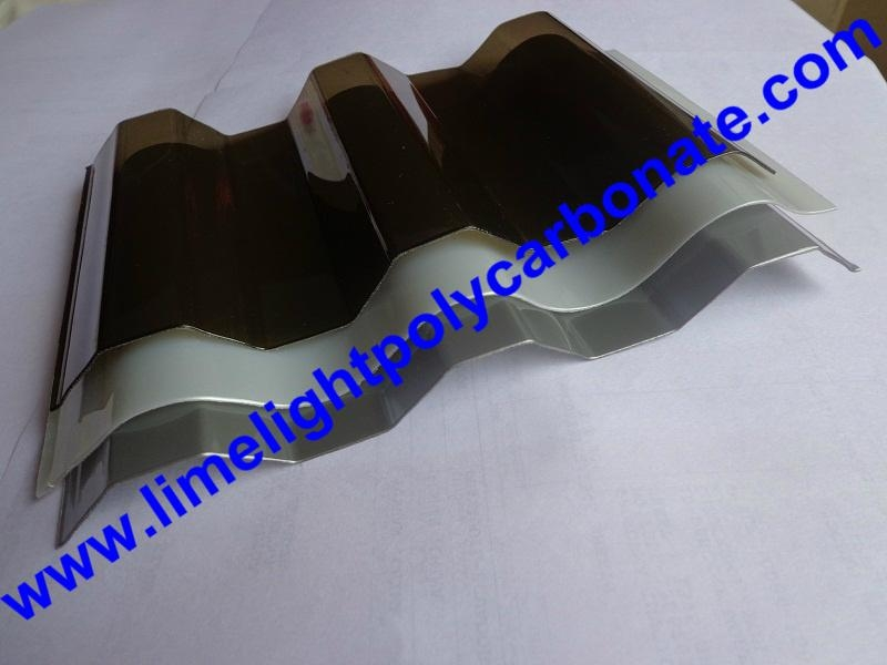 Corrugated polycarbonate sheet polycarbonate sheet polycarbonate roofing sheet 4