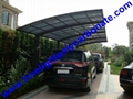 double size aluminum carport with bronze